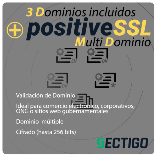 PositiveSSL Multidominio Sectigo